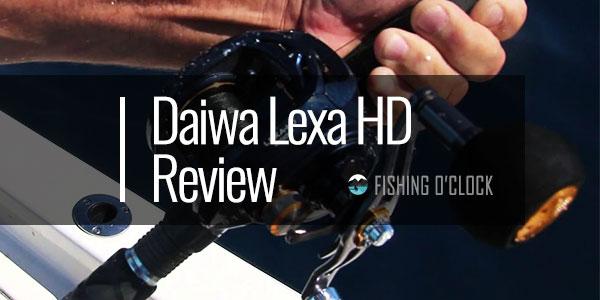 Daiwa Lexa HD Review - Low Profile & Anti-Reverse Dual Stopper