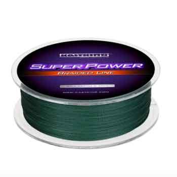 KastKing-SuperPower-Braided-Green-Fishing-Line