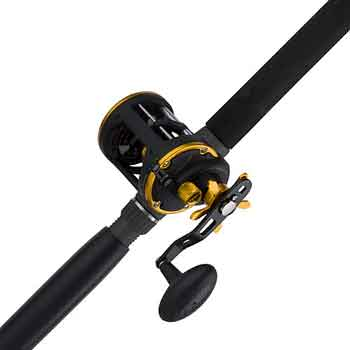 PENN-Squall-Level-Wind-Reel-&-Rod-Fishing-Combo