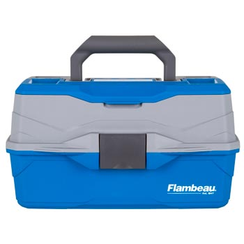 Flambeau Outdoors 6382 Classic 2-Tray Tackle Box