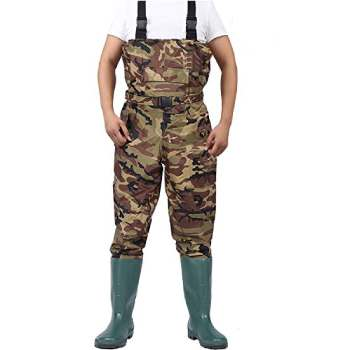 Chest Waders Cleated Fishing Hunting Waders (1)
