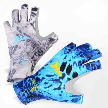 KastKing Sol Armies Sun Gloves UPF50+ Fishing Gloves