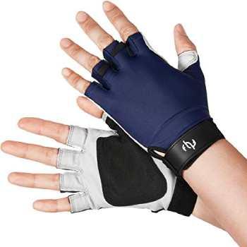 The Fishing Tree Fingerless Gloves