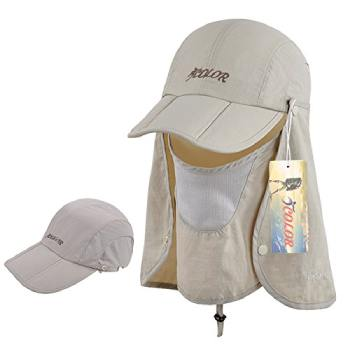 ICOLOR Sun Cap Fishing Hats (1)