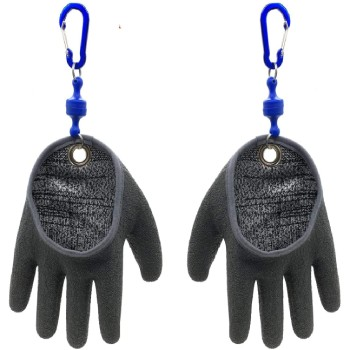 Inf-way Fishing Glove with Magnet Release