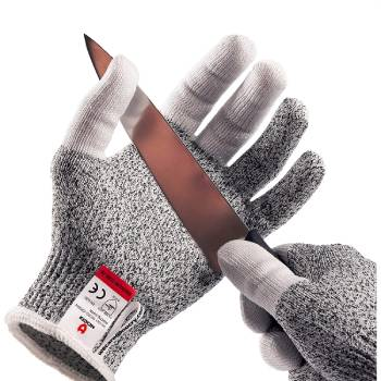 NoCry Cut Resistant Kitchen and Work Safety Gloves