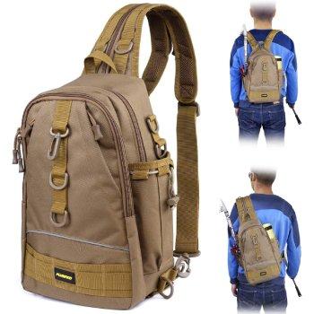 PLUSINNO Fishing Tackle Backpack Storage Bag