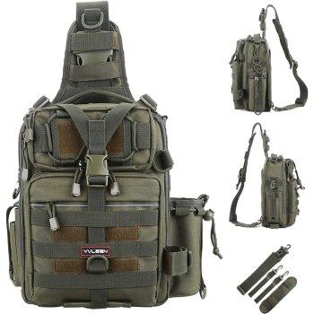 YVLEEN Fishing Tackle Backpack